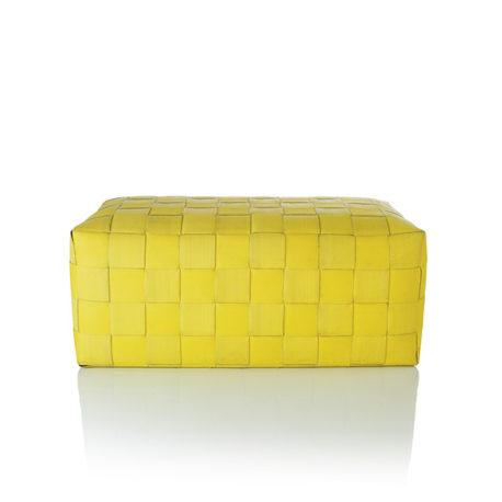 Brandslang poef Faas geel