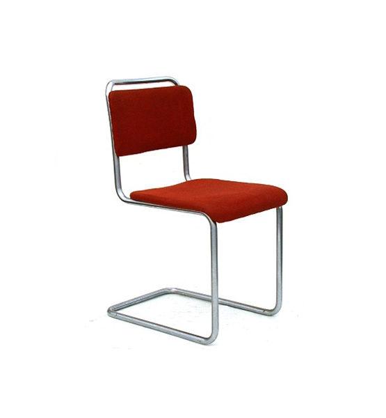 Gispen 101 design stoel rood
