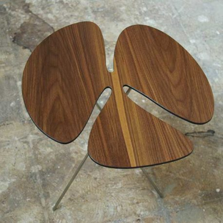 Pluk desgin tafel noten hout