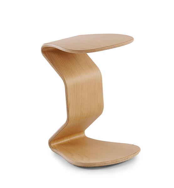 Design kruk Ercolino M beuken