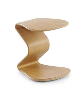 Design kruk Ercolino eiken