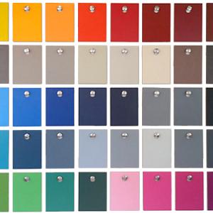 HPL tafel op maat op kleur