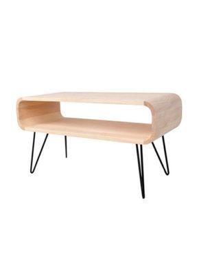 Design salontafel Metro hout