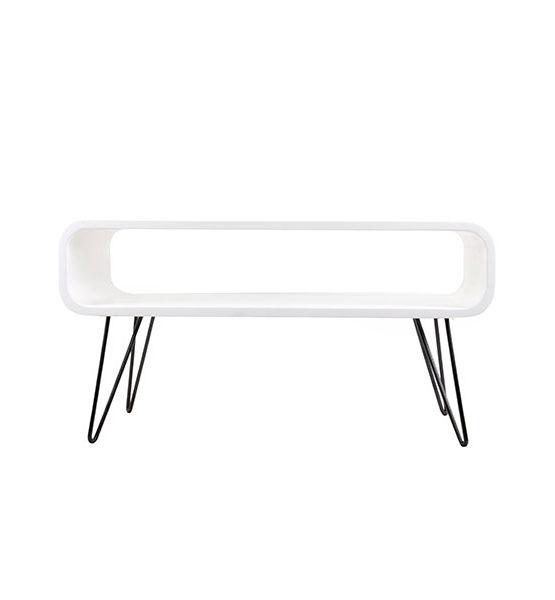 Design salontafel Metro wit