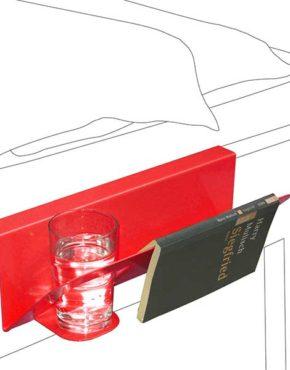 Hanno - Design bedtafeltje - Rood
