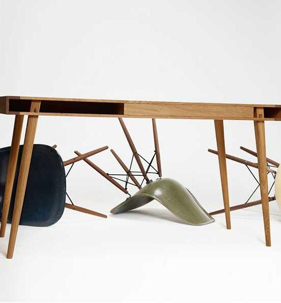 Design bureau Poet - Met één lade en opbergruimte