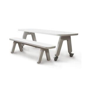 Picknick on Wheels tafel + bankje