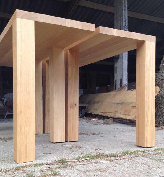 Bedeaux design tafel - Massief eiken