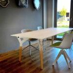 Kataba design tafel bij de klant