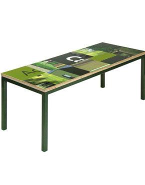 Bouwborden salontafel groen grijs