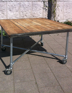 Steenschot tafel vierkant