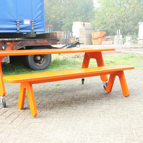 Picknick on Wheels polyester design tuintafel