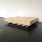 Multiplex salontafel onbehandeld 75 x 75 cm