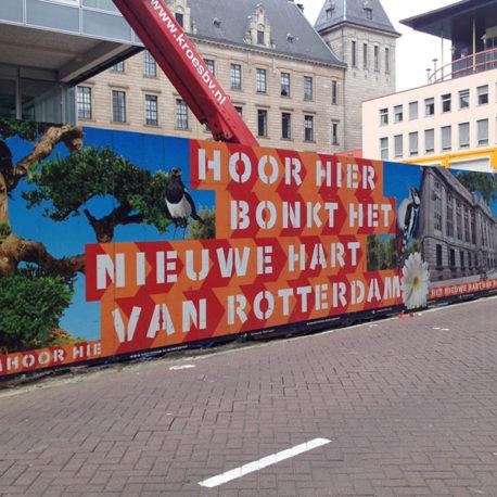 Rotterdammers bouwen aan de stad