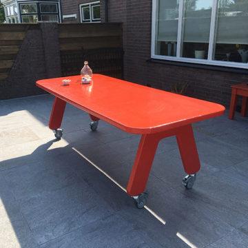 Hufter proof project tafel picknick on wheels