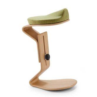 Ercolino verstelbare ergonomische kruk, met comfort zit